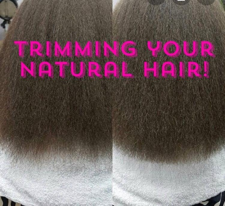 How To Trim Your Own Natural Hair